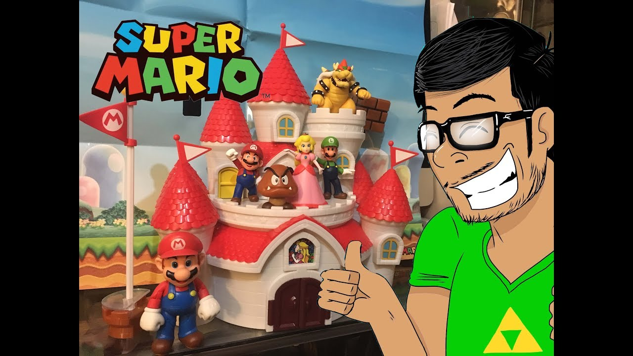 Peach Castle Playset Review World Of Nintendo Toys Castle Playset Bowser Toy