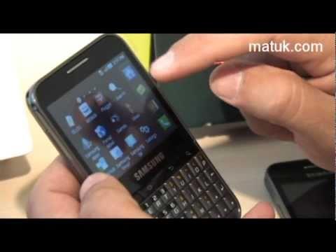 Samsung Galaxy Pro y Galaxy Ace
