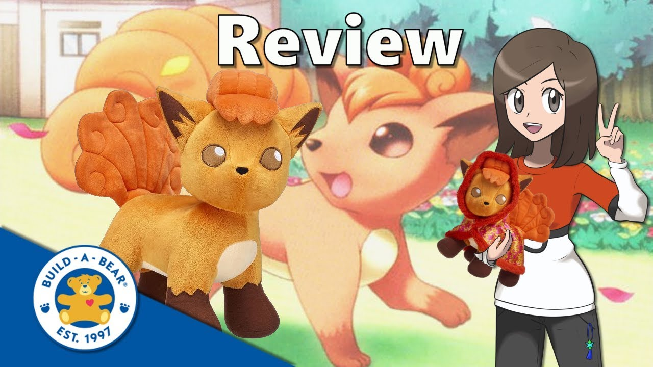 1057212150b Pokémon Build a Bear Vulpix Review - YouTube