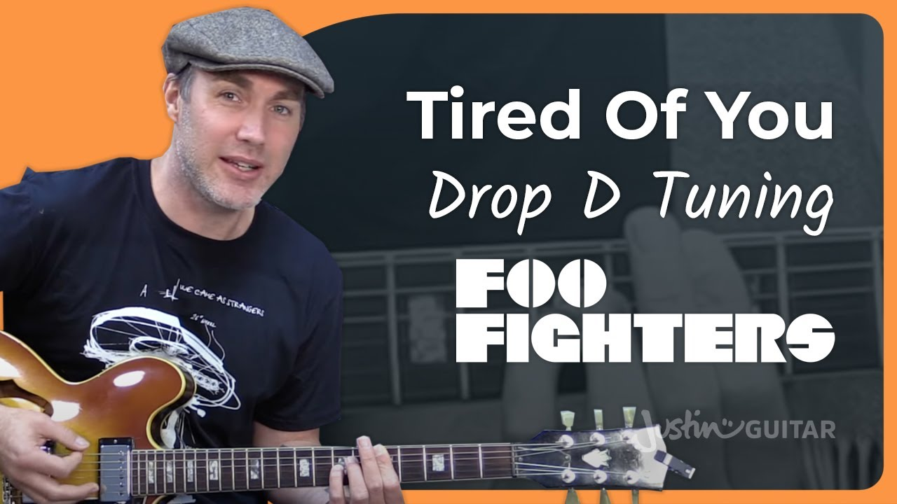 Foo Fighters Tired Of You Guitar Lesson Tutorial Chords