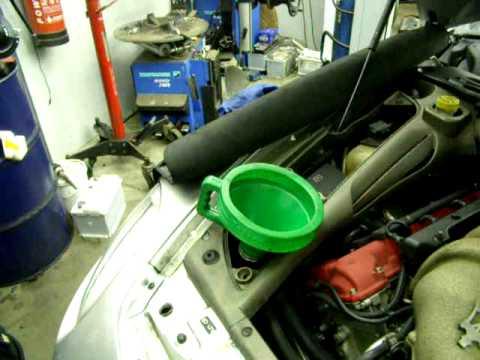 maserati gradsport oil service 5 - youtube
