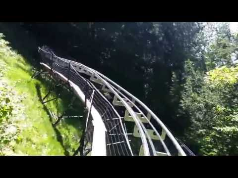 ALPINE COASTER at Attitash in New Hampshire!