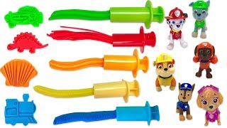 Learn Colors with Paw Patrol Play Doh Surprise with Fizzy Fun Toys