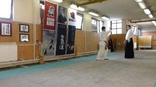 yokomen uchi iriminage [AIKIDO]  basic technique