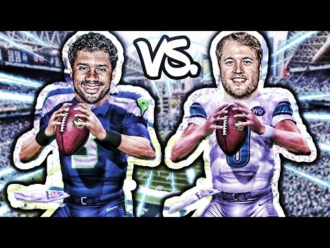 CAN MATTHEW STAFFORD GO INTO SEATTLE AND BEAT THE SEAHAWKS? MADDEN 17 CHALLENGE