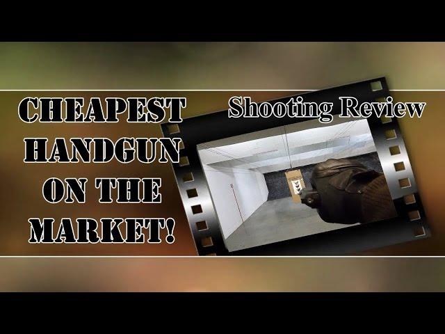 Cheapest Handgun in America: Cobra CA380 Shooting Review