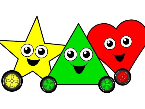 """""""Shapes Chant"""" - Learn Shapes, Teach Babies & Toddlers Shapes in English, Kids Nursery Songs"""