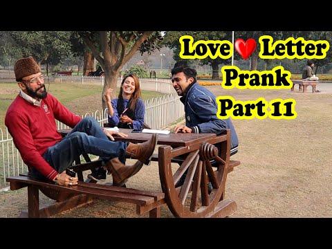 Love Letter Prank 11 | Allama pranks | Totla reporter | Cute Girl