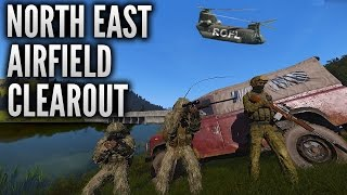 arma 3 desolation north east airfield sniper fest part 2 roflcopter edition