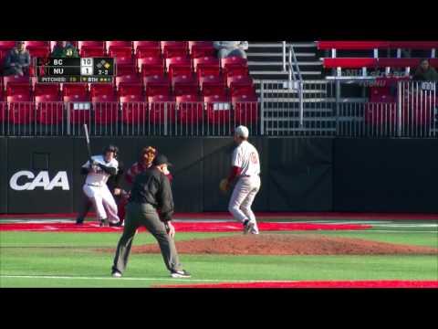 Northeastern Baseball vs. Boston College | Game Recap | March 21, 2017