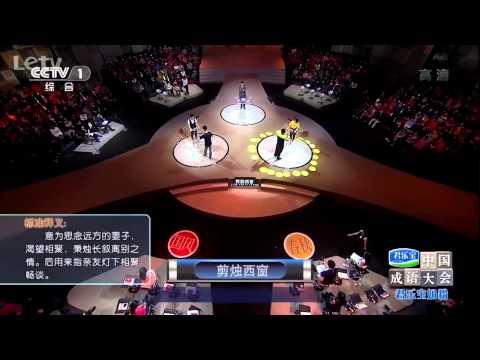20140608 中国成语大会 总决赛第八场