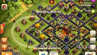 Clash of Clans - Gemming To Max Base Ep# 6 of 7 112000/140000!