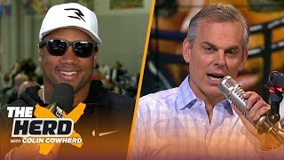 Russell Wilson previews Super Bowl LIII, talks his experience facing the Rams | NFL | THE HERD