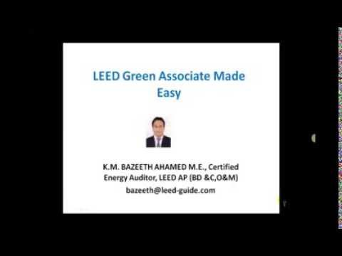 Green Building or LEED Green Associate Made Easy Beginners Guide: Green Building Academy