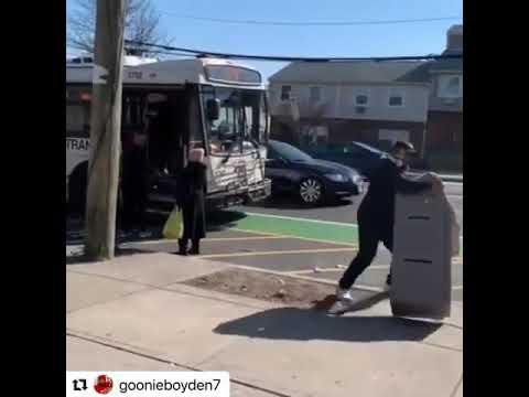 Man Try To Put Stolen ATM On The Bus In Newark