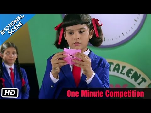 One Minute Competition - Emotional Scene - Kuch Kuch Hota Hai - Shahrukh Khan, Sana Saeed