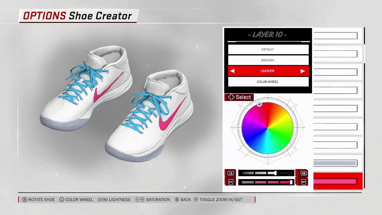 2bb2ecf659279a NBA 2K18 Shoe Creator - Nike Kobe AD Mid Custom