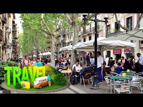 Poblenou barrio #Barcelona ☕ Ultra HD 4K