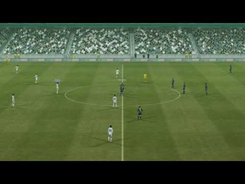 Pro Evolution Soccer 2013 Real Madrid vs Barcelona (Super Star difficulty) [PC Gameplay Full match]
