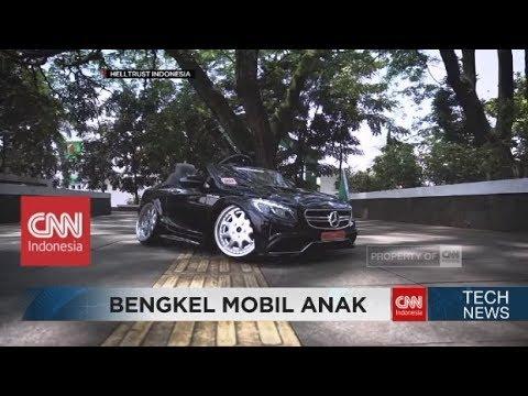 Bengkel Modifikasi Mobil untuk Anak