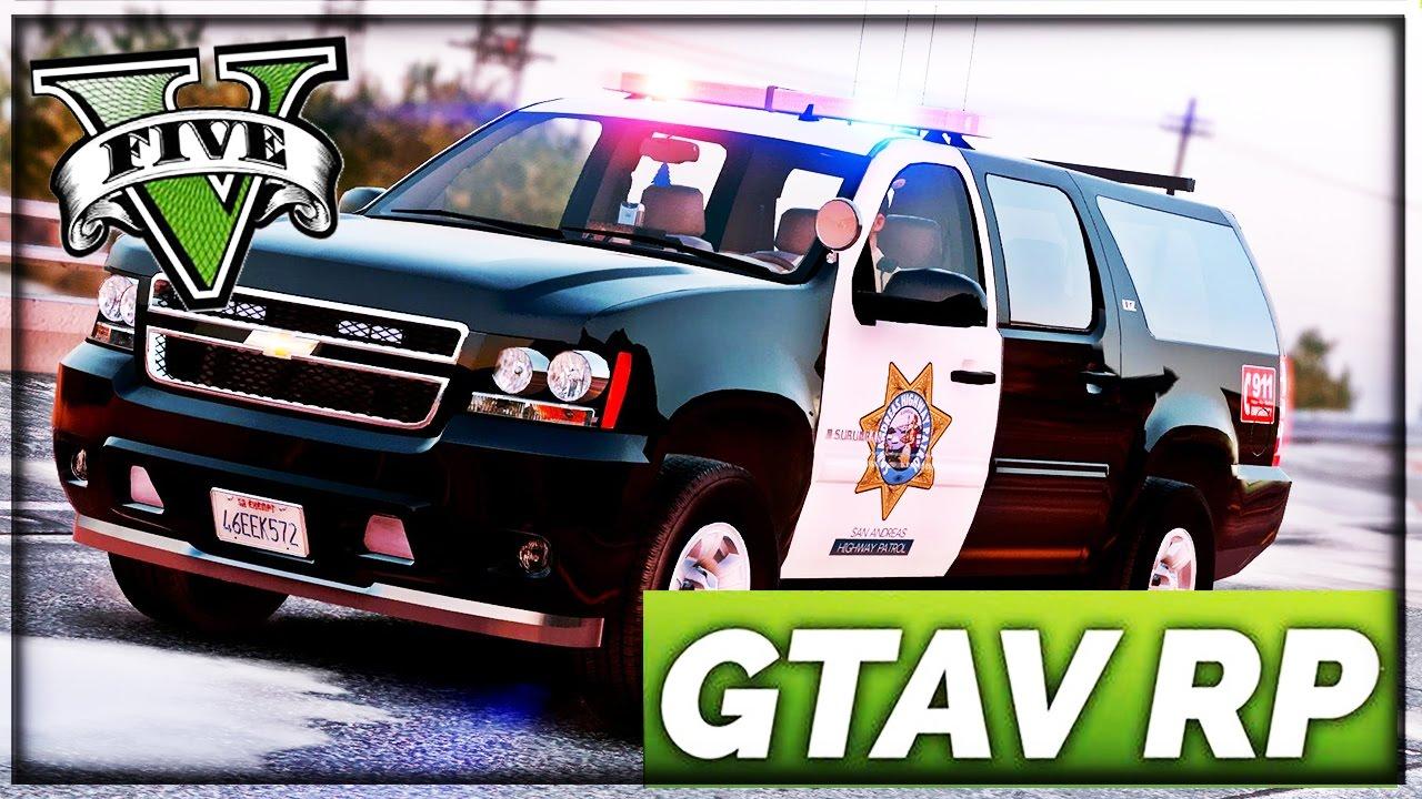 LIVE GTA 5 RP - POLICIER - YouTube