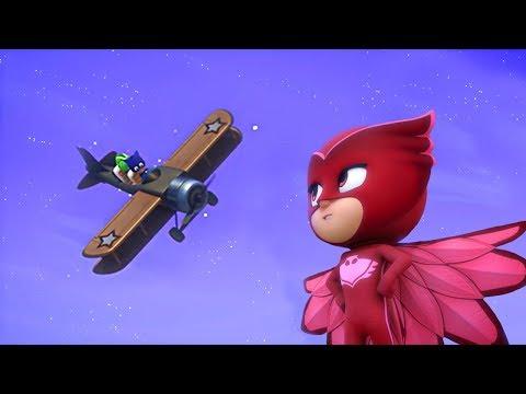 PJ Masks Full Episodes | Take to the Skies, Owlette! | 1 HOUR | Cartoons for Children #102