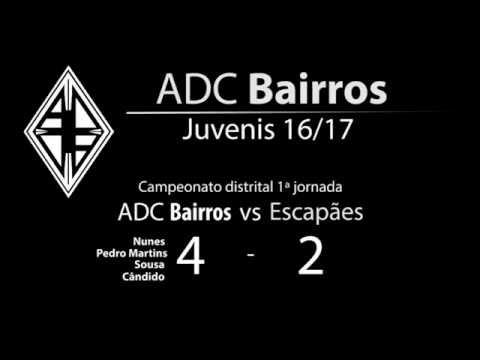 ADC Bairros vs CD Escapães Juvenis