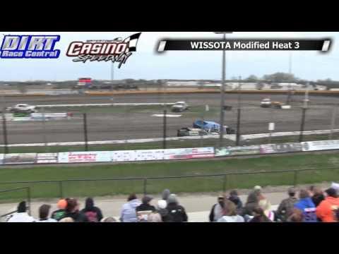 Casino Speedway 5 18 14 WISSOTA Modified Races