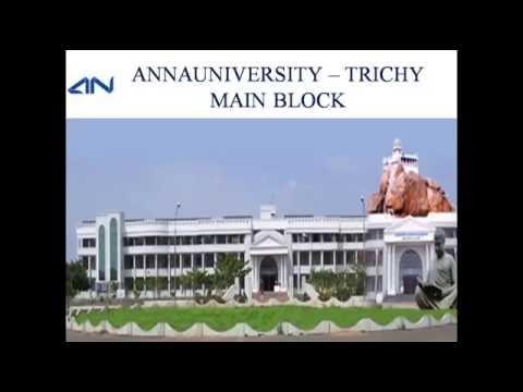 Anna University - Trichy