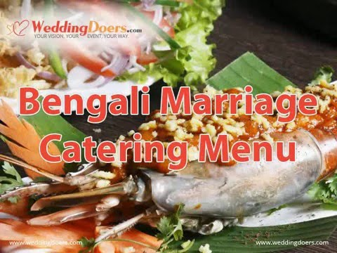 Bengali Marriage Catering Menu