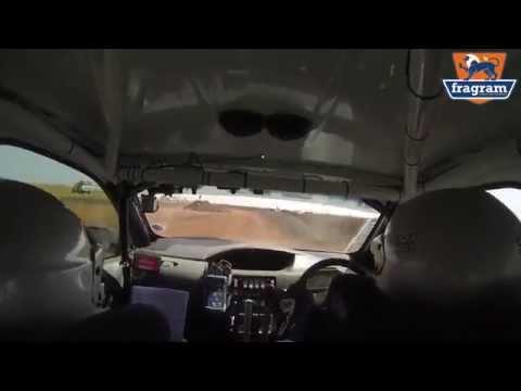 Massive crash at South African Rally
