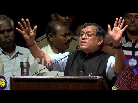 Gurumurthy Speech in Thuglak Anniversary , tamil news, news in tamil, redpix