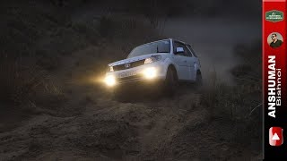 Isuzu V Cross, Storme 400, Endeavour LT; Attempting the MLD obstacle