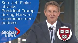 Sen. Jeff Flake says Trump has