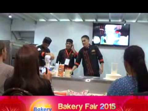 BAKING DEMO WORLD TRADE CENTER, MANILA BAKERY FAIR 2015