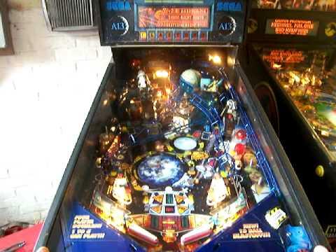 Sega Apollo 13 Arcade Pinball Machine 13 Ball Multiball