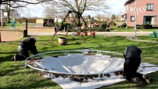 Inground Etan Premium Gold trampoline ingraafinstructies