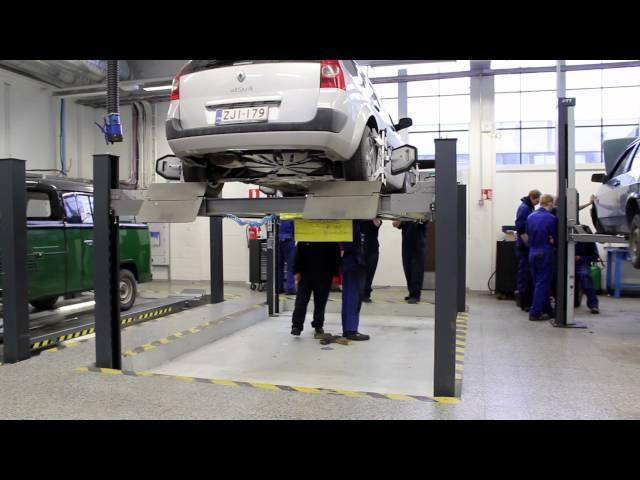 Ajoneuvoasentaja, autonkuljettaja | Koulutuskeskus Salpaus