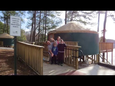 Kenny Stays In A Stone Mountain Yurt Youtube