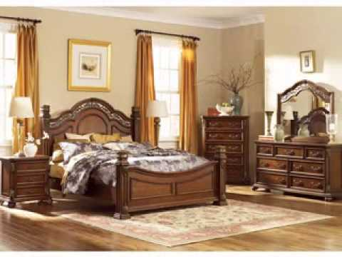 Traditional bedroom furniture - YouTube