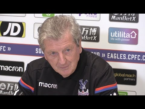 Roy Hodgson Full Pre-Match Press Conference - Manchester City v Crystal Palace - Premier League