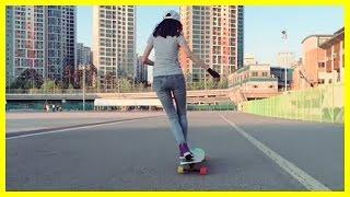 Original Korean Longboarding Girl Video (Hyo Joo)   Koreaboo Compilations