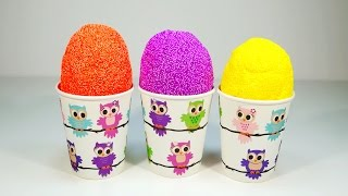 Pearl Clay Ice Cream Surprise ABATONS Kinder Sofia Star Wars Disney Princess Zomlings 4K Full HD