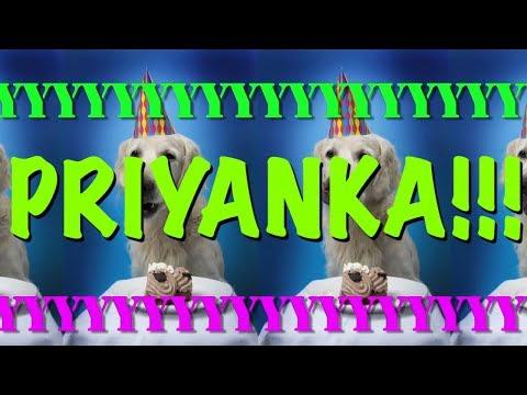 HAPPY BIRTHDAY PRIYANKA! - EPIC Happy Birthday Song