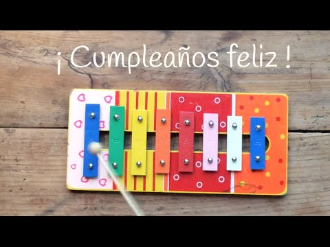 Te enseñamos a tocar canciones fáciles con xilófono: el cumpleaños feliz