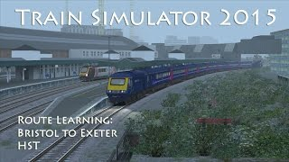 Train Simulator 2015 - Route Learning: Bristol to Exeter (HST)