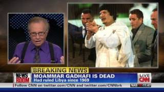 Larry King reflects on Gadhafi interview