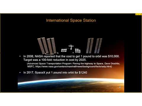 ISS Utilization and the Commercialization of Space as a Resource