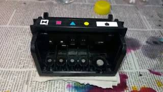 Промывка печатающей головки HP C310B, 6380, C309, C310, C5383, D7560, 6380A CN642A, CB326 30002, CB3