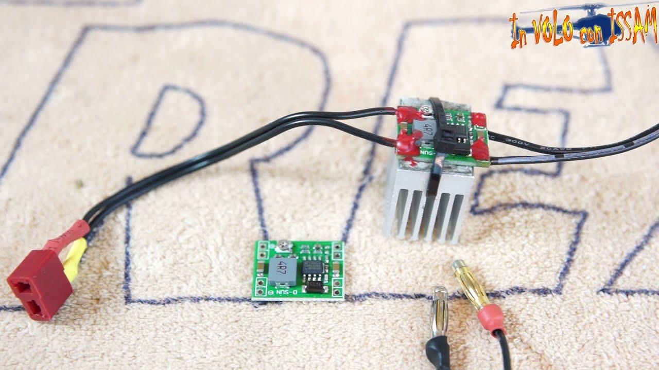 Schema Elettrico Regolatore Pwm : Mini regolatore di tensione variabile dc economico